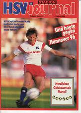 BL 88/89 Hamburger SV - Hannover 96