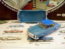 1960s Foreign Faller Mercedes 230SL Slot Car Body Bl/Bl