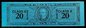 R1/1 US Revenue Stamp Cigar 1953 Series 123 Class E 20 MNHNGAI Incredible Center