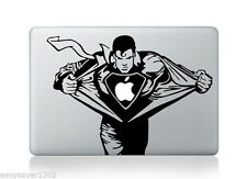 "Superman Vinyl Apple Macbook Pro Retina 13"" Sticker Decal Skin Cover For Laptop"