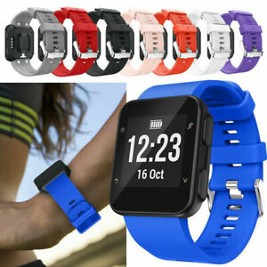 Silicone Wrist Band Strap Replacement For Garmin Forerunner 35/30 Watch Bracelet