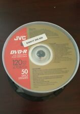 JVC DVD-R  for Video 120 Min Recordable 50 Disk 4.7GB