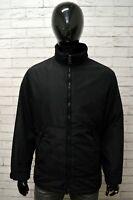 Giubbino Giubbotto GAS Uomo Taglia M Giacca Jacket Coat Man Cappotto Nero Black