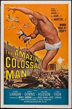 Amazing Colossal Man 1957 One Sheet