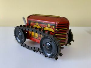 Marx Tin Tractor