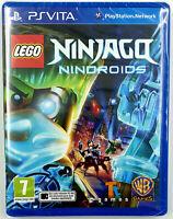 Lego Ninjago Nindroids - Playstation PS Vita - Neuf sous blister - PAL FR