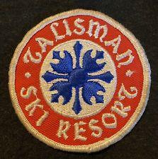 TALISMAN SKI RESORT Lost Area 1960s-2011 Vtg Skiing Patch Ontario CANADA Travel