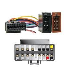 Autoleads Sony 16 pin a ISO de CD estéreo headunit Reemplazo Cable de alimentación arnés
