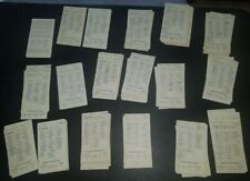 """STRAT-O-MATIC 282 """"NAMELESS PLAYER"""" CARDS THROUGH THE YEARS  - USED"""