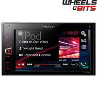 "Pioneer MVH-AV280BT Double Din Mechless Receiver iPod Bluetooth USB 6.2"" Screen"
