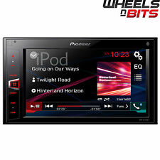 "Pioneer MVH-AV280BT Double Din Mechless Receiver iPod Bluetooth USB 6.2"" Screen"