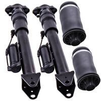 Rear Shock Absorbers & Air Suspension Bags Kit for Mercedes ML GLClass W164 ADS