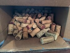 100 ASSORTED NATURAL USED CORK WINE CORKS