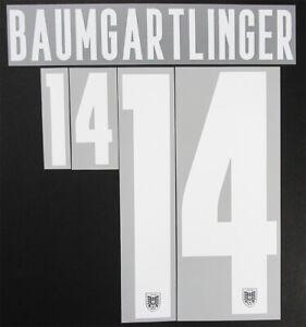 2020 2021 OFFICIAL AUSTRIA HOME WHITE NAME SET BAUMGARTLINGER 14 = PLAYER SIZE