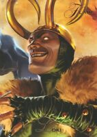 2015 Marvel Fleer Retro 1994 Marvel Flair Insert Trading Card #9 Loki