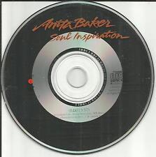 ANITA BAKER Soul Inspiration w/ RARE EDIT PROMO Radio DJ CD single USA 1990 MINT