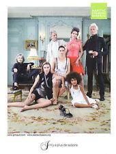 Publicité 2012  MARITHE FRANCOIS GIRBAUD collection vetement mode pret à porter