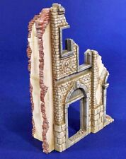 Verlinden 1/35 European City House Ruin Section [Resin Diorama Model kit] 2827