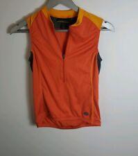 Novara Woman's Blue Cycling Jersey Size Small Yellow Orange