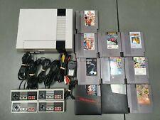 Nintendo Nes Console & Games Bundle
