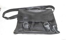 JP Ourse & Cie Geneve Black Leather Softside Briefcase Lap Top Document Case