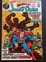 SUPERMAN'S PAL. JIMMY OLSEN. NO. 137. JACK KIRBY-ART. NEAL ADAMS-INKS  1971.