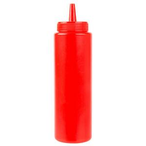 Choice 8 oz. Squeeze Bottle - 6/Pack (select color)
