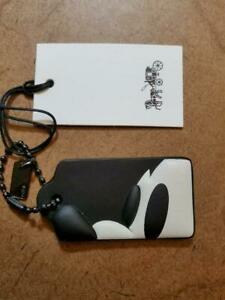 Disney x Coach LIMITED EDITION Mickey Nose hang tag