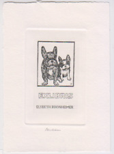 Exlibris from Henk Blokhuis - Dogs