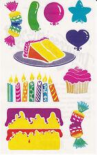 Mrs. Grossman's Giant Stickers - Posh Impressions Birthday - Balloons - 2 Strips