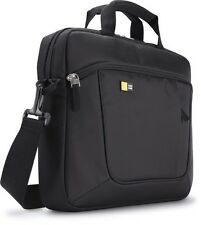 "CASE Logic 14.1 ""Laptop / iPad Slim Custodia NERA borsa da trasporto AUA314 NUOVO MacBook"