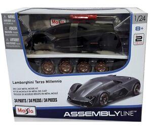 LAMBORGHINI TERZO MILLENNIO - 1:24 Scale Die-Cast Sports Car Model Kit - Maisto