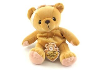 """Cherished Teddies - PLUSH """"The Tedddie With A Heart Of Gold"""" Toy 1998 516502"""