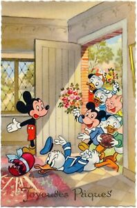 Disney - Mickey Mouse Welcomes Donald Duck, Nephews & Others Over for Easter