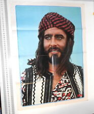 SANDOKAN Kabir Bedi 70s Intrepido italy poster by magazine - poster giornalino