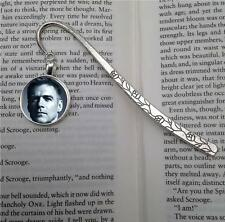 Bryan Adams Silver  Tone Metal Bookmark