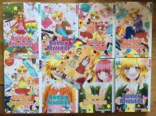 8 x Manga - Rainbow Revolution - Bände 1-8 - komplette Serie + Sammelkarte