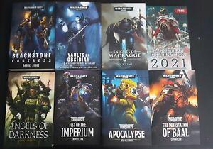 Warhammer 40k Black Library Books, Paperbacks, Lot