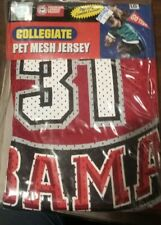Alabama collegiate Pet Mesh Jersey large