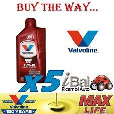 OLIO MOTORE MAX LIFE 15W-40 API:SM/CF SINTETICO 5 LITRI - VALVOLINE VA872361