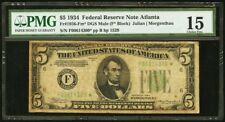 1934 $5 Federal Reserve Star Note DGS Mule  Fr#1956-Fm*