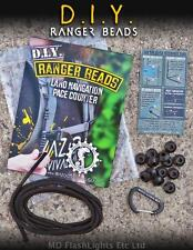 WAZOO D.I.Y RANGER BEAD PACE COUNTER 550 PARACORD BUSHCRAFT SURVIVAL MILITARY