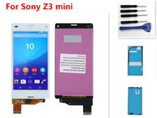 For Sony Xperia Z3 Mini Compact D5803 D5833 White LCD Touch Screen Digitizer Ts