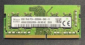8GB DDR4 3200MHz Hynix PC4-25600 HMA81GS6DJR8N-XN Laptop Memory RAM 260-pin