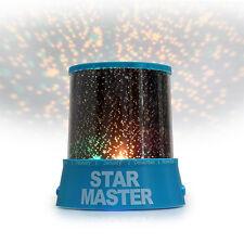 Romantic Cosmos Sky Star Master Light LED Projector Night Lamp Child Kids Gift