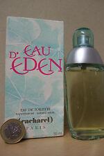 D eau EDEN von cacharel   50 ml Eau De Toilette Spray mi  OVP  Rarität