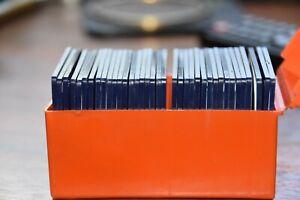 ONE HUNDRED HALF FRAME,   PLASTIC SLIDE FRAMES IN ORIGINAL 2  PLASTIC BOXES