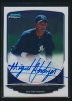 MIGUEL ANDUJAR AUTO Autograph 2013 Bowman Chrome #BCA-MAJ Yankees Rookie Card RC