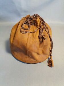 Vintage fishing reel Leather Pouch