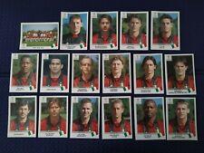 CHAMPIONS LEAGUE MILAN 1999-2000 Calciatori Panini 00 SCEGLI figurina con velina